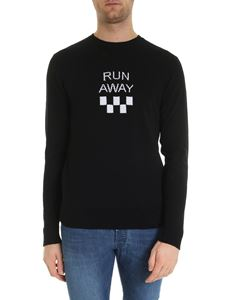 MSGM - Run Away pullover in black