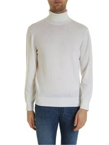 Z Zegna - Wool turtleneck in cream color