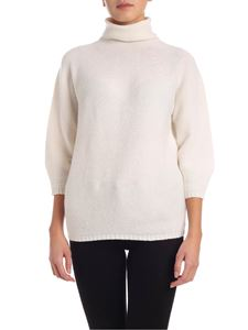 Max Mara - Etrusco turtleneck in white