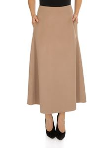 S Max Mara - Vociare skirt in camel color