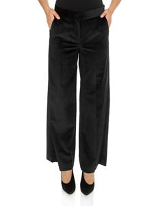 Max Mara - Corduroy Stiria trousers in black