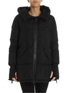 Herno Laminar - Quilted-effect down jacket in black