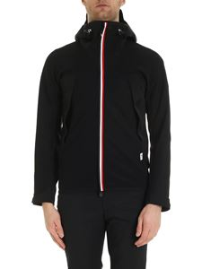 Moncler Grenoble - Black technical fabric hoodie