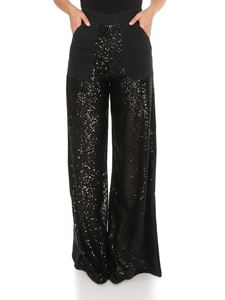 Pinko - Denim and sequins Parker jeans