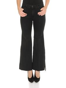 Pinko - Floral jeans in black