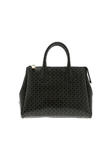 Gum Gianni Chiarini - Fourty medium bag in black