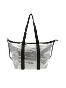 Gum Gianni Chiarini - Fantasy Medium shopper bag in transparent and silver