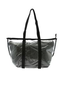 Gum Gianni Chiarini - Fantasy Medium Shopper bag in transparent and black