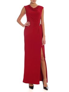 Lauren Ralph Lauren - Jewel detail long dress in red