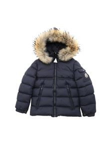 Moncler Jr - New Byron down jacket in blue