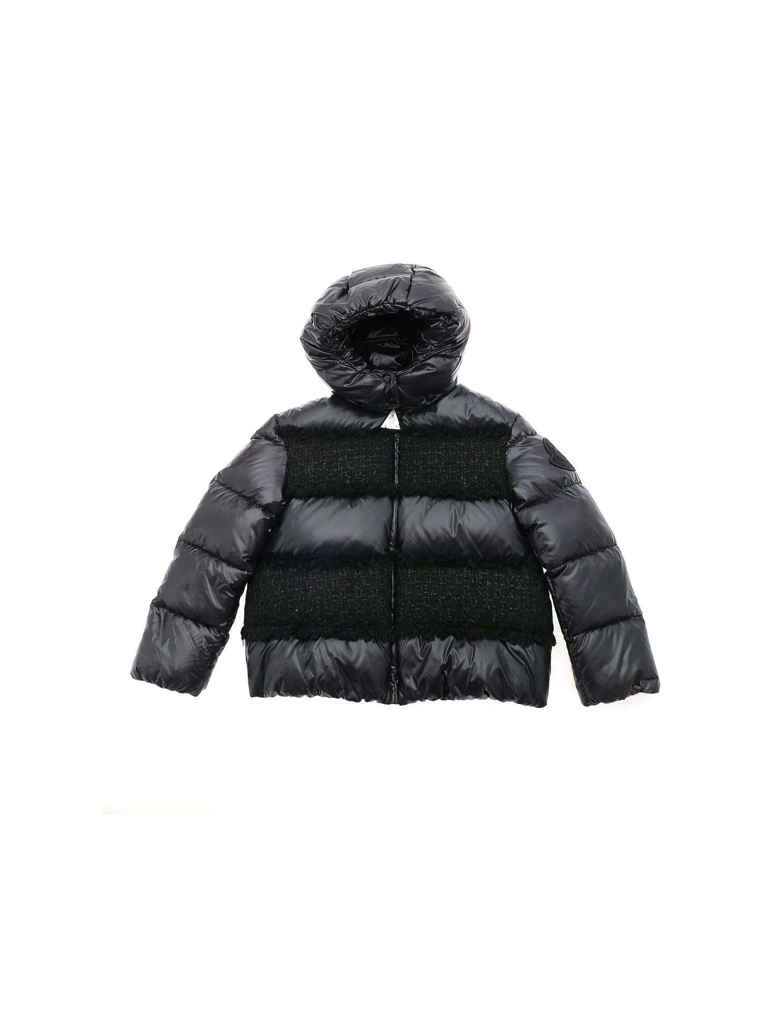 Moncler Jr Downs ELBE DOWN JACKET IN BLACK