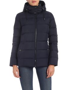 POLO Ralph Lauren - Down jacket in blue with tone on tone logo embroidery