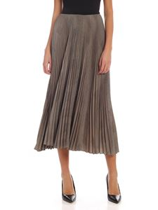 POLO Ralph Lauren - Prince of Wales pleated long skirt