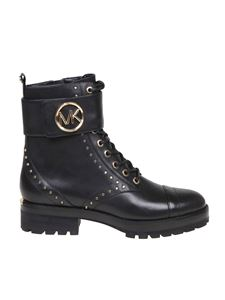 Michael Kors - Tatum ankle boots in black leather