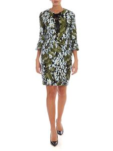 Blumarine - Floral pattern jacquard dress