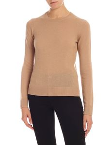 Theory - Cashmere pullover in camel color