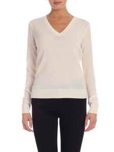 Theory - Cashmere pullover in cream color