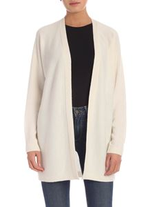 Theory - Cashmere cardigan in cream color