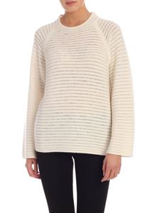 Theory - Pullover in cashmere color crema