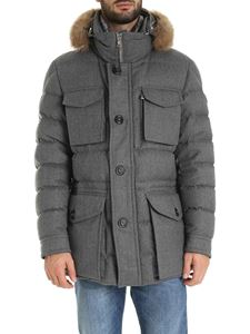 Moncler - Augert down jacket in grey