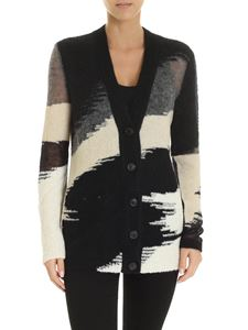 Missoni - Macro flamed inlay cardigan