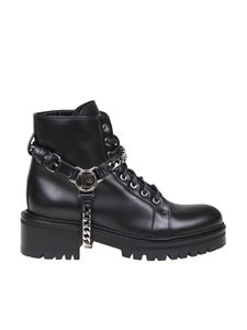 Balmain - Ranger ankle boots in black