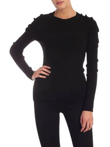 Semicouture - Eleonore pullover in black