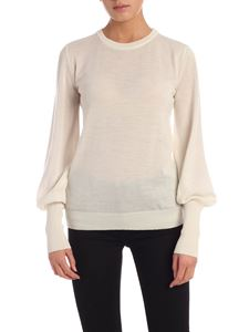 Semicouture - Corinne pullover in ivory color