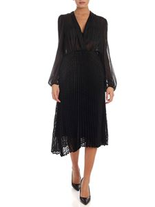 Semicouture - Pleated dress in black