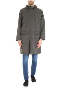 Aspesi - Popper Winter parka jacket in army green color