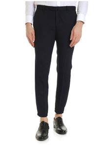 Incotex - Urban Traveler trousers in blue and black