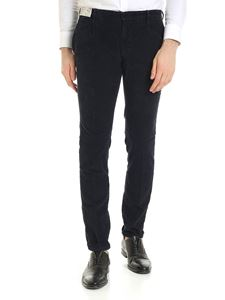 Incotex - Corduroy trousers in blue