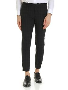 Incotex - Urban Traveler check printed trousers in grey