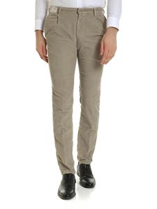 Incotex - Corduroy trousers in beige