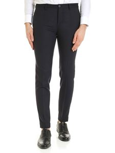 Incotex - Slash pocket trousers in blue