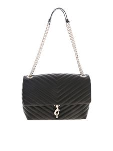 Rebecca Minkoff - Edie Flap bag in black