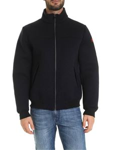 MC2 Saint Barth - Country jacket in blue wool