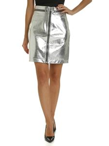 Philosophy di Lorenzo Serafini - Zipped skirt in silver