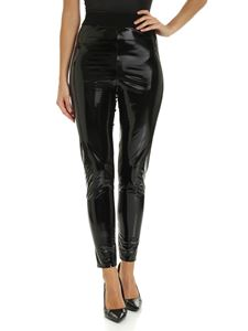 Elisabetta Franchi - Pantalone in latex nero