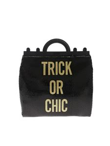 Moschino - Trick Or Chic sequin handbag