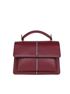 Marni - Attache shoulder bag in burgundy
