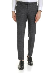 Briglia 1949 - Trousers in grey and melange blue