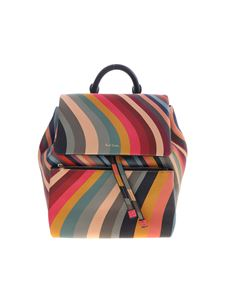 Paul Smith - Swirl backpack in multicolor