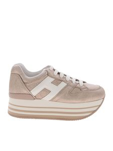 Hogan - H283 sneakers in laminated pink