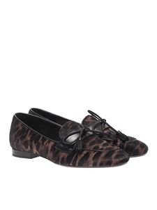 Anna Baiguera - Tori loafers in animal print