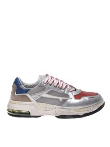 Premiata - Drake sneakers in silver color