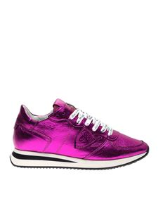 Philippe Model - Sneakers Trpx Metal Pop in fucsia