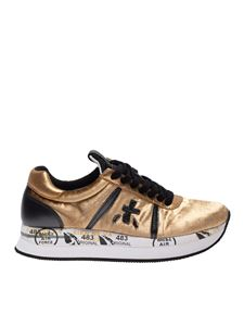 Premiata - Sneakers Conny dorate