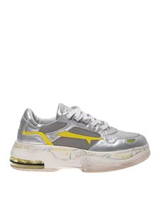 Premiata - Draked sneakers silver color