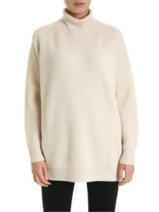 Max Mara - Disco pullover in cream color
